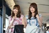 関西テレビ・フジテレビ系ドラマ『サイレーン』に出演する(左から)佐野ひなこ、入山杏奈(C)関西テレビ