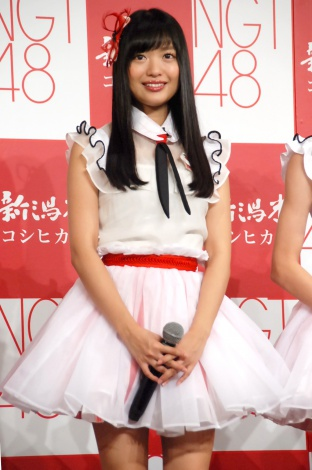 JA『新潟米×NGT48 新米収穫発表会』に出席したNGT48・北原里英 (C)ORICON NewS inc.