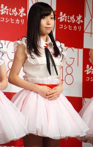 JA『新潟米×NGT48 新米収穫発表会』に出席したNGT48・宮島亜弥 (C)ORICON NewS inc.