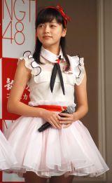 JA『新潟米×NGT48 新米収穫発表会』に出席したNGT48・中村歩加 (C)ORICON NewS inc.