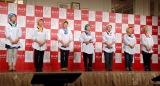 JA『新潟米×NGT48 新米収穫発表会』に出席した新潟ライスガールズ (C)ORICON NewS inc.
