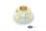 『'アナと雪の女王'サプライズクリスマスケーキ〜'オラフ'みんなのケーキ食べちゃダメよ〜』(税込価格:360円〜)
