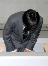 母親の生活保護受給騒動で謝罪会見を行った次長課長・河本準一 (C)ORICON DD inc.