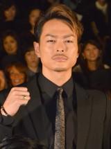 ドラマ『HiGH&LOW』第1話完成披露舞台あいさつに出席した今市隆二 (C)ORICON NewS inc.