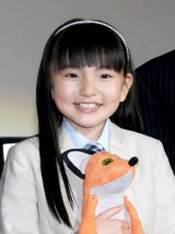 NHK連続テレビ小説『あさが来た』でヒロインの少女時代を好演した鈴木梨央(C)ORICON NewS inc.