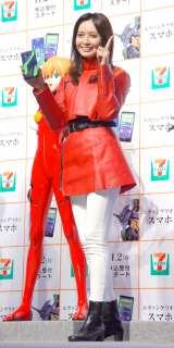 『セブン-イレブン×エヴァンゲリオン』キャンペーン発表会に出席した加藤夏希 (C)ORICON NewS inc.