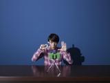 ソフトバンクの新CM『MOON RIVER』篇で元『おぼっちゃまくん』を演じる満島真之介