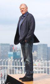 映画『ザ・ウォーク』の来日記者会見に出席したロバート・ゼメキス氏 (C)ORICON NewS inc.