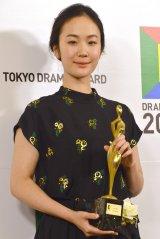 『天皇の料理番』で「東京ドラマアウォード2015」主演女優賞を授賞した黒木華 (C)ORICON NewS inc.