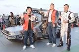 映画『バック・トゥ・ザ・フューチャー』の30周年アニバーサリーイベントに出席した(左から)有村昆、山本昌 、 (C)ORICON NewS inc.