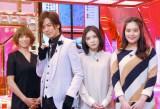 (左から)hitomi、DAIGO、松岡茉優、筧美和子(C)ORICON NewS inc.