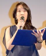 ショートショートオムニバス『only 4 you』の完成披露舞台あいさつに出席した田中広子 (C)ORICON NewS inc.