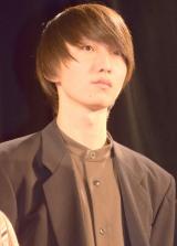 ショートショートオムニバス『only 4 you』の完成披露舞台あいさつに出席した育乃介 (C)ORICON NewS inc.