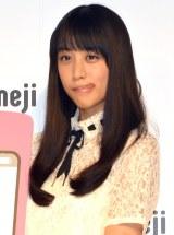 日本語文字入力&顔文字キーボード『Simeji』新CM発表会に出席した山本美月 (C)ORICON NewS inc.