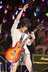 結成5周年記念ライブ2日目を行ったNMB48・山本彩(C)NMB48