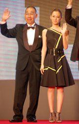 (左から)でんでん、北川景子 (C)ORICON NewS inc.