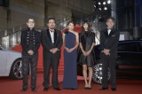 『第28回東京国際映画祭』のレッドカーペットに登場したの模様