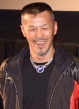ドキュメンタリー映画『ジョーのあした -辰吉丈一郎との20年-』舞台あいさつに出席した辰吉丈一郎 (C)ORICON NewS inc.