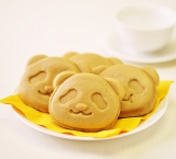 上野限定で発売中の『パンダ焼き』にマロン豆乳クリーム味が登場