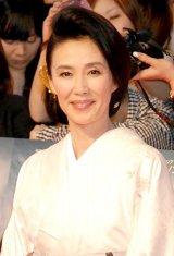 『あさが来た』で主人公の姉をいびる義母・菊役を熱演している萬田久子 (C)ORICON NewS inc.