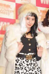 『ViVi Night in TOKYO 2015〜HALLOWEEN PARTY〜』前の囲み取材に出席した河北麻友子 (C)ORICON NewS inc.