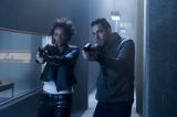 米ドラマ『HEROES Reborn/ヒーローズ・リボーン』エリカ(左:リア・キルステッド)、ルーク(右:ザカリー・リーヴァイ)(C)2015 NBCUniversal. All Rights Reserved.
