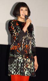 映画『更年奇的な彼女』舞台あいさつに出席した藤原紀香 (C)ORICON NewS inc.