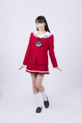小川真琴を演じる神沢有紗 (C)瀬田ヒナコ・芳文社/レーカン!製作委員会