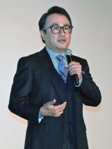都内で行われた映画『ギャラクシー街道』初日舞台あいさつに登壇した三谷幸喜監督 (C)ORICON NewS inc.