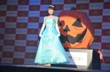 結婚後初めて公の場に姿を現した釈由美子。お姫様の仮装で幸せオーラ全開 (C)ORICON NewS inc.