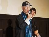 『第28回東京国際映画祭』特集上映「ガンダムとその世界」のトークイベントに登壇した富野由悠季氏 (C)ORICON NewS inc.
