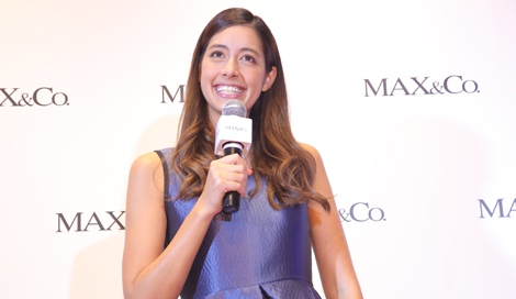 サムネイル 伊ファッションブランド「MAX&Co.」表参道店のリニューアルイベントに登場した森泉