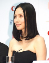 映画『FOUJITA』記者会見に出席した中谷美紀 (C)ORICON NewS inc.