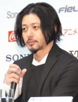 映画『FOUJITA』記者会見に出席したオダギリジョー (C)ORICON NewS inc.