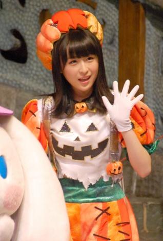 『ピューロハロウィーン2015』に登場した川本紗矢 (C)ORICON NewS inc.