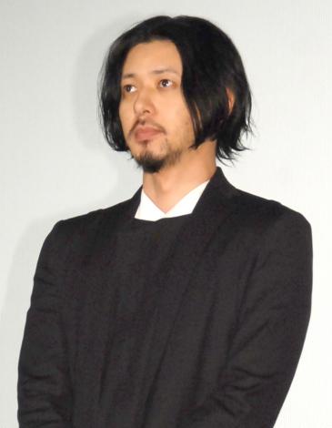 映画『FOUJITA』の舞台あいさつに出席したオダギリジョー (C)ORICON NewS inc.