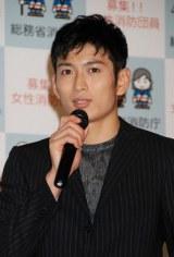 自身のブログで結婚発表した松田悟志 (C)ORICON NewS inc.