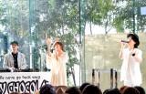 新曲「あなたと明日も feat. ハジ→&宇野実彩子(AAA)」の発売記念イベントの模様 (C)ORICON NewS inc.