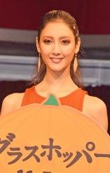 映画『グラスホッパー』(11月7日公開)のハロウィンイベントに出席した菜々緒 (C)ORICON NewS inc.