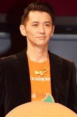 映画『グラスホッパー』(11月7日公開)のハロウィンイベントに出席した村上淳 (C)ORICON NewS inc.