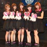 (左から)高木紗友希、宮崎由加、植村あかり、宮本佳林、金澤朋子 (C)ORICON NewS inc.