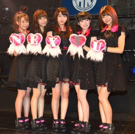 Juice=Juice(左から)高木紗友希、宮崎由加、植村あかり、宮本佳林、金澤朋子 (C)ORICON NewS inc.