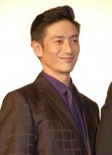 『劇場版 MOZU』ワールドプレミア舞台あいさつに出席した伊勢谷友介 (C)ORICON NewS inc.