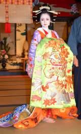 NHK正月時代劇『吉原裏同心〜新春吉原の大火〜』の取材会に出席した安達祐実 (C)ORICON NewS inc.