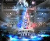 ランドマークプラザのクリスマスツリーイメージ写真