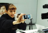 生配信番組『新曲「Save me」リリース記念SPECIAL LIVECAST!!!』を実施した西内まりや (C)ORICON NewS inc.