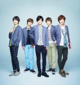 「DearDream」リアルキャストの(写真左から)溝口琢矢、正木郁、石原壮馬、太田将熙、富田健太郎