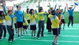 『NMB48秋の大運動会』で優勝したチームBII (C)ORICON NewS inc.