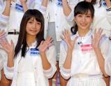 (左から)10月31日を持ってアイドリング!!!を卒業した外岡えりか、横山ルリカ (C)ORICON NewS inc.