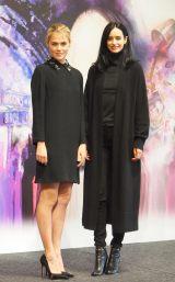 ドラマ『ジェシカ・ジョーンズ』で共演するレイチェル・テイラーも出席(C)ORICON NewS inc.